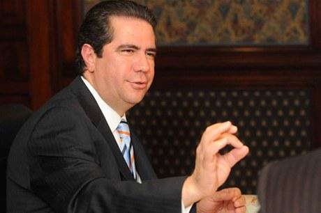 Francisco Javier García recaudará fondos para proyecto presidencial