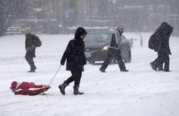 ¡Alerta! Se acerca primera tormenta invernal del 2014 sobre el noroeste de EEUU