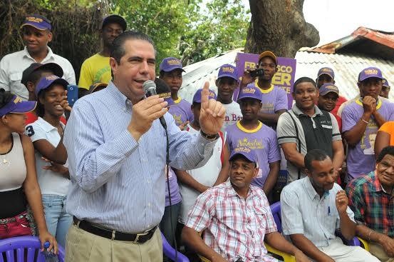 Francisco Javier recorrerá este fin de semana seis provincias de las regiones Este y Norte